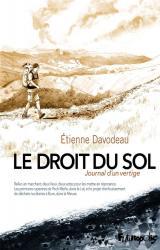 couverture de l'album Le Droit du sol  - Journal d'un vertige