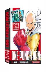 couverture de l'album Coffret One-Punch Man - tomes 1 à 3 + poster