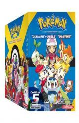 couverture de l'album COFFRET Pokémon Diamant Perle / Platine - tomes 1 à 5 + Guide Pokémon - 1