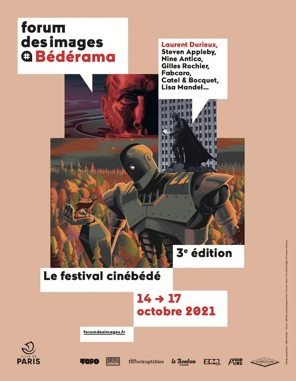 Cinéma et bande dessinée vous attendent du 14 au 17 octobre au Forum des Images !