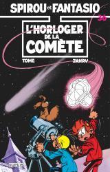 couverture de l'album L'horloger de la comète