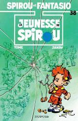couverture de l'album La jeunesse de Spirou