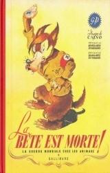 couverture de l'album La guerre mondiale chez les animaux