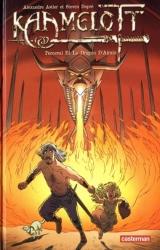 page album Perceval et le dragon d'Airain