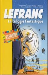 page album Lefranc - La trilogie fantastique