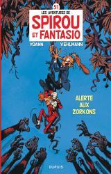 couverture de l'album Alerte aux Zorkons
