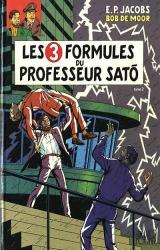 couverture de l'album Les 3 formules du professeur Sato T.2