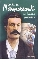 couverture de l'album Contes de Maupassant en bandes dessinées