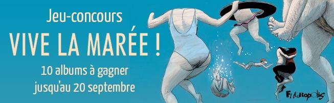 Jeu-concours Vive la marée !