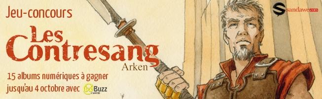 Jeu-concours Les Contresang, Arken