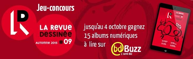 Jeu-concours La Revue dessinée n°9