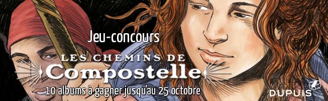 Jeu-concours Les chemins de Compostelle T.2