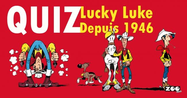 Quiz Lucky Luke - NIVEAU 3