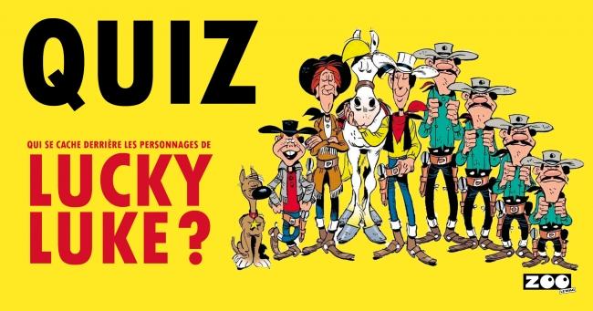 Qui se cache derrière les personnages de Lucky Luke ?