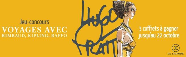 Jeu-concours Coffret Hugo Pratt