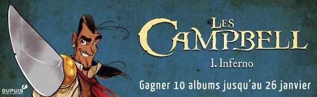 Jeu-concours Les Campbell