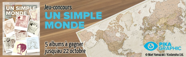 Jeu-concours Un Simple Monde