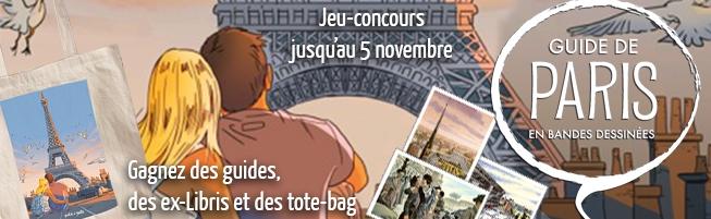 Jeu-concours Le Guide de Paris en BD