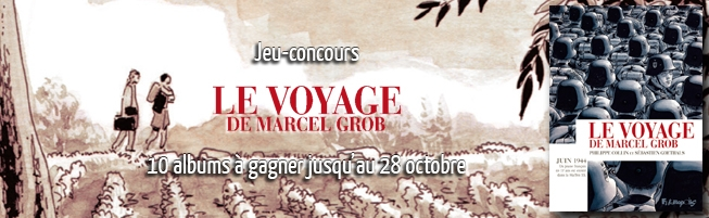 Jeu-concours Le Voyage de Marcel Grob