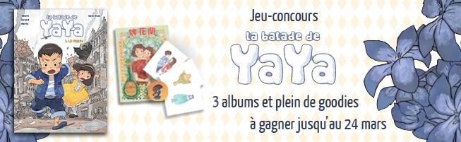 Jeu-concours La Balade de Yaya