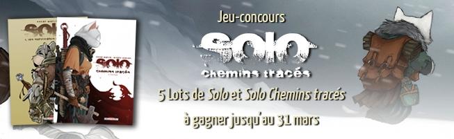Jeu-concours Solo & Solo Chemins tracés