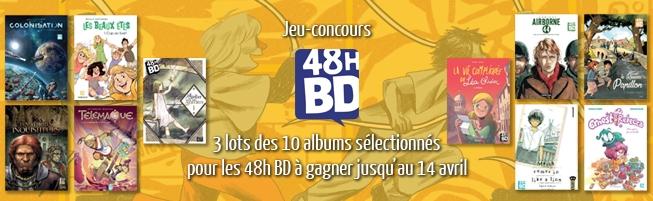 Jeu-concours 48h BD