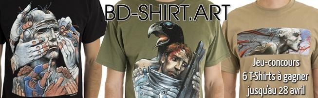 Jeu-concours T-shirt illustrés Bilal
