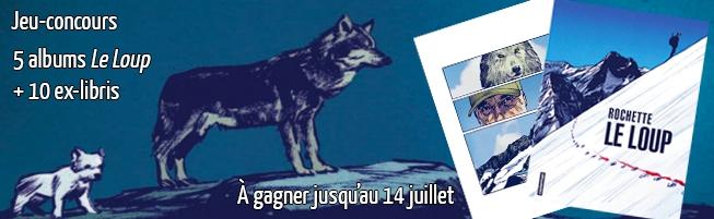 Jeu-concours Le Loup