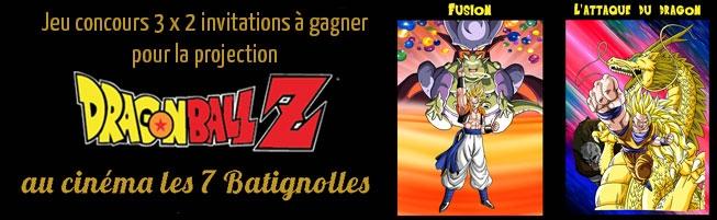 Jeu-concours Dragon Ball Z