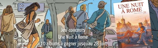 Jeu-concours Une Nuit à Rome