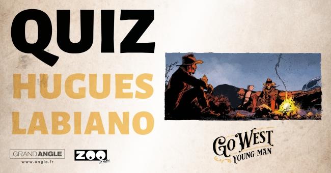 Découvrez le dessinateur Hugues Labiano, qui participe au prochain album évènement, Go West, réalisé par 16 cowboys du neuvième art! En attendant sa parution le 3 novembre, Zoo vous propose de découvrir l'équipe à travers des Quiz! A vos Colts, prêts... Tirez!