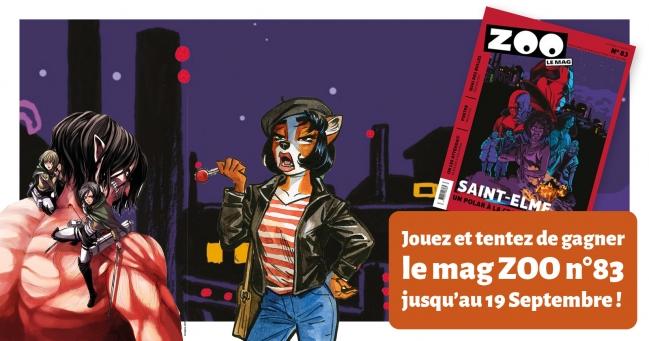 Un numéro de rentrée qui promet avec des critiques, une double page sur le premier tome de Saint-Elme, une double page sur la BD Goldorak, des jeux-concours, 2 extraits BD et, en exclusivité: un poster sur l'album Negalyod !