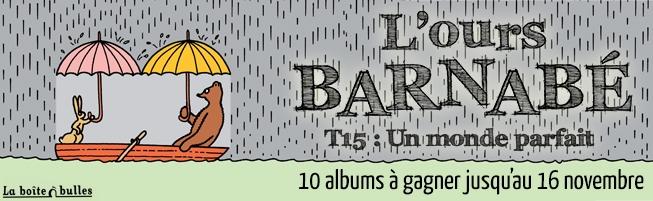 Jeu-concours L'Ours Barnabé, t.15