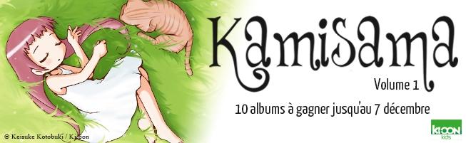 Jeu-concours Kamisama T.1