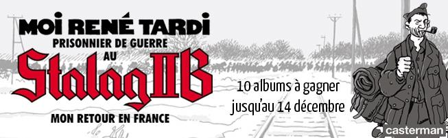 Jeu-concours Moi René Tardi, Prisonnier de guerre au Stalag IIB T.2