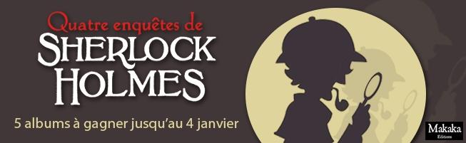 Jeu-concours Quatre Enquêtes de Sherlock Holmes